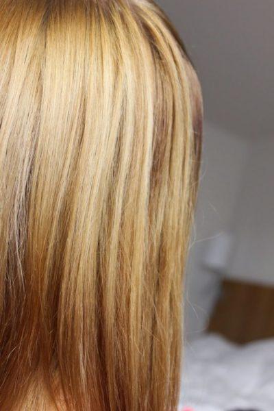 Hiusten vaalennus mustata vaaleaan