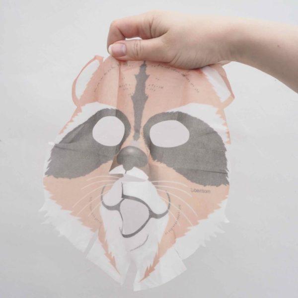 Animal sheet mask