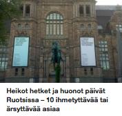Ärsyttävää Ruotsissa