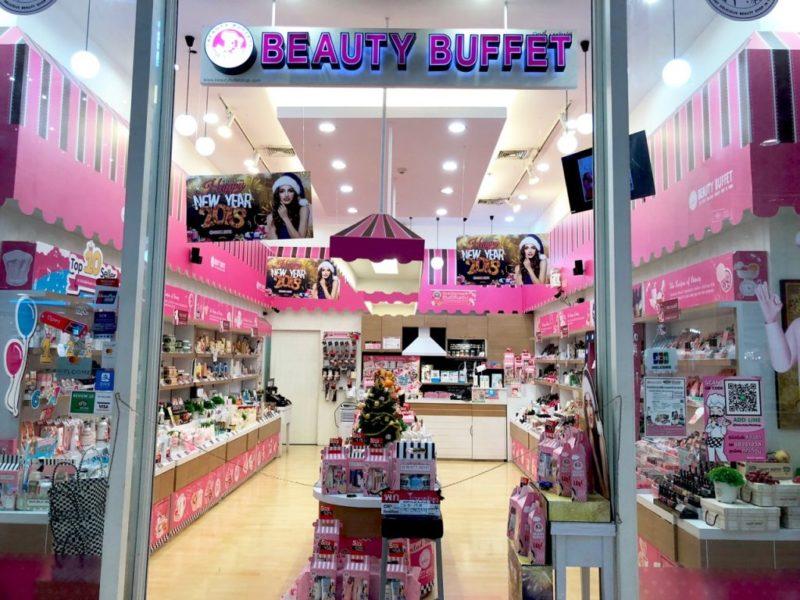 Beauty Buffet Bangkok Ostolakossa kosmetiikka - 1