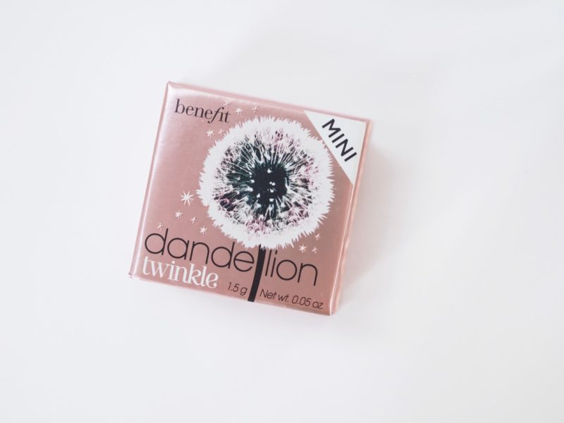 Benefit Dandelion Twinkle highlighter