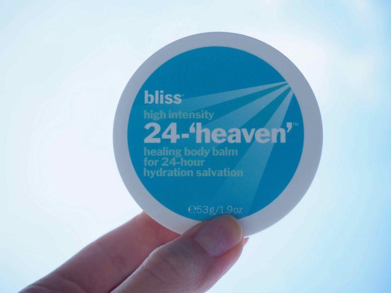 Bliss High Intensity 24 heaven healing body balm