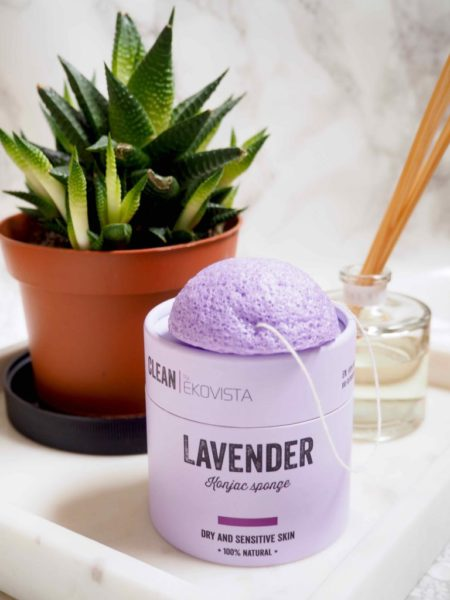 Ekovista Lavender Konjac Sponge