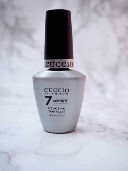 Cuccio 7 Second Reactive Top Coat