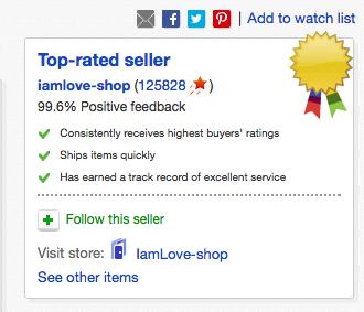 ebay hyvä myyjä