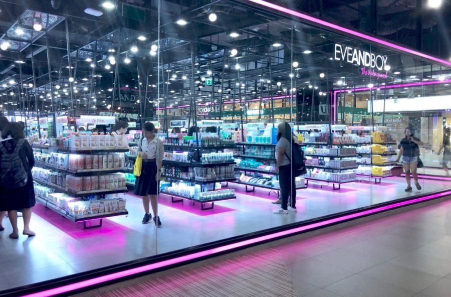 Eveandboy Bangkok Ostolakossa kosmetiikka - 1