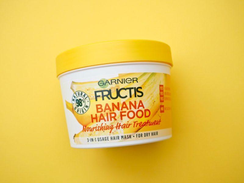 Garnier Banana Hair Food banaaninaamio kokemuksia Ostolakossa Virve
