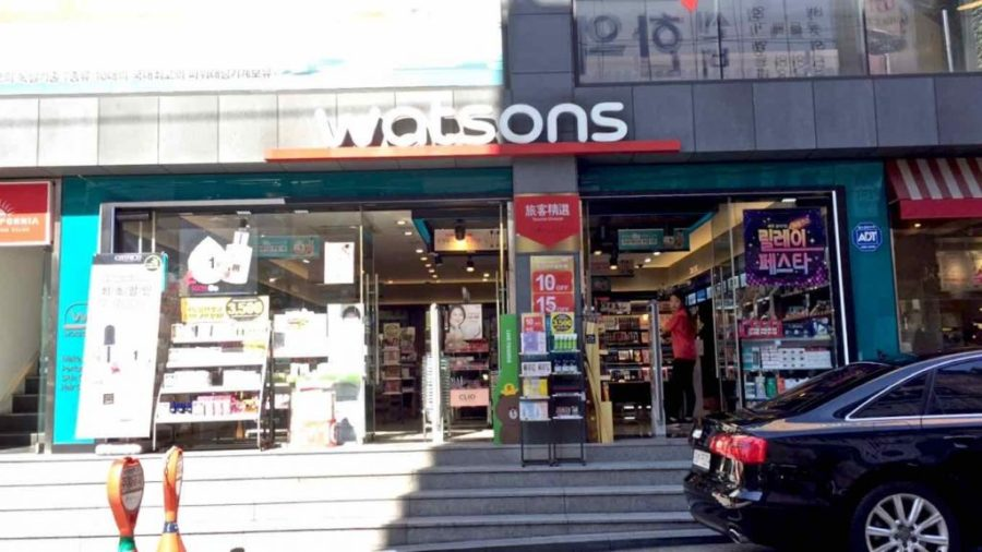 Garosu-Gil Cosmetics Watsons - 1