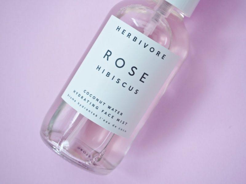 Herbivore Rose Hibiscus Coconut Water Hydrating Face Mist