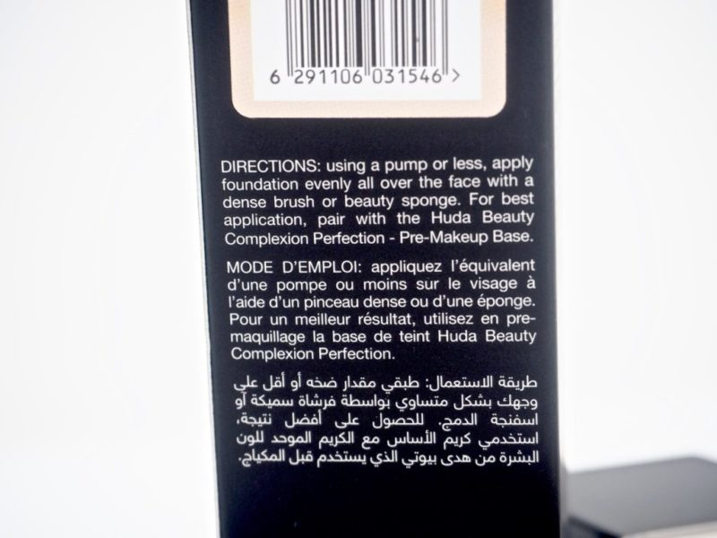 Huda Beauty #Fauxfilter foundation Kokemuksia ostolakossa virve vee