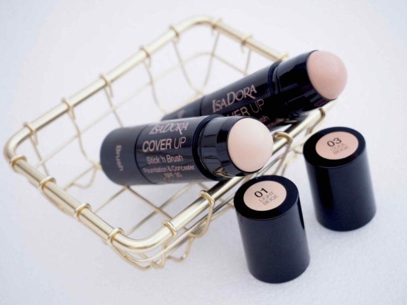 IsaDora Cover Up Stick 'n Brush SPF 30