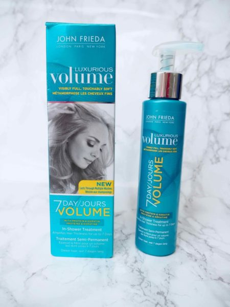 John Frieda 7 Day Volume