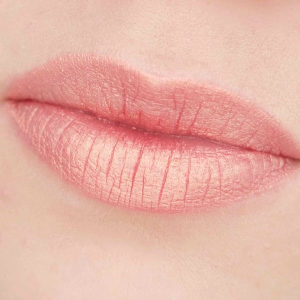 JOUER Long-Wear Lip Creme Liquid Lipstick Papaye