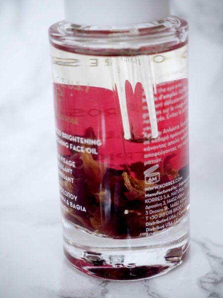 Korres Wild Rose Face Oil