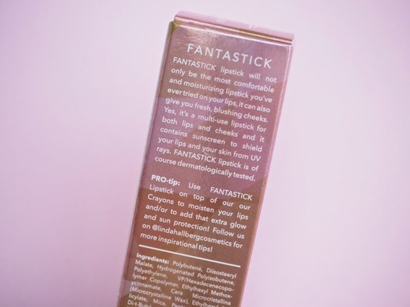 Linda Hallberg Fantastic Kokemuksia Pink Opal huulipuna Ostolakossa Virve Vee