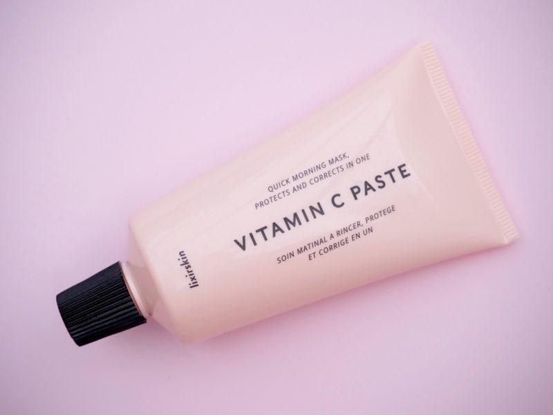 Lixirskin Vitamin C Paste Quick morning mask kasvonaamio aamulla Ostolakossa