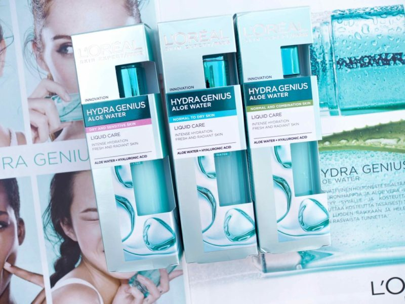 L'Oréal Paris Hydra Genius Hoitoneste kokemuksia Ostolakossa Virve Vee