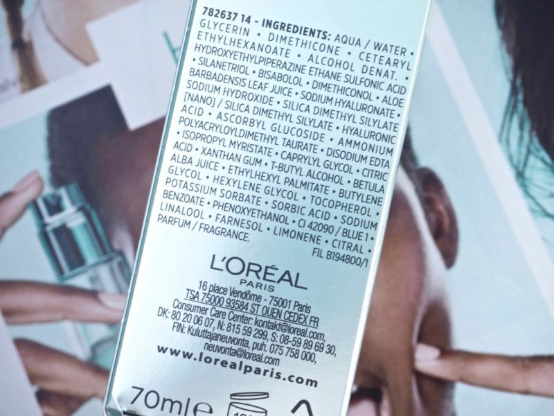 L'Oréal Paris Hydra Genius Kuivalle & herkälle iholle.