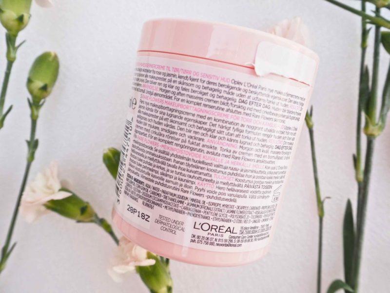Loreal Paris Skin Expert Rare Flowers Makeup Removal Cream