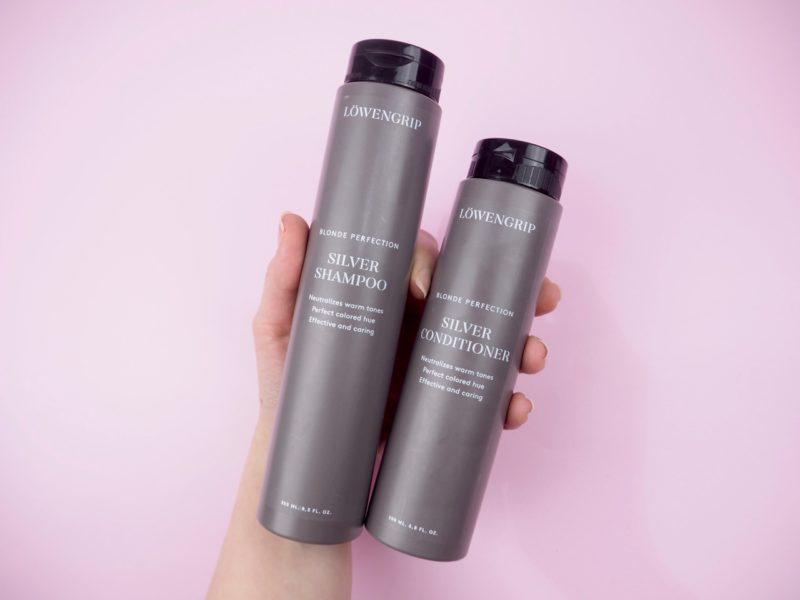 Löwengrip Blonde Perfection Silver Shampoo Conditioner kokemuksia Ostolakossa Virve Vee