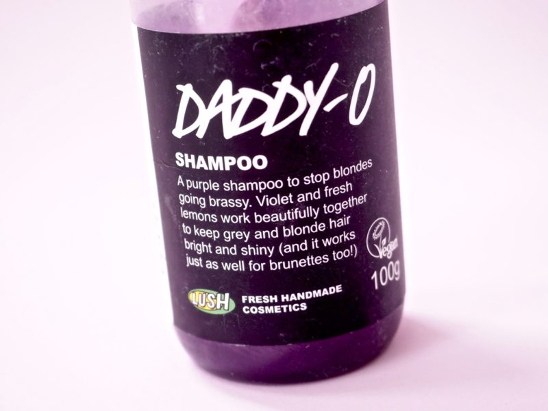 Lush Daddy-o hopeashampoo kokemuksia