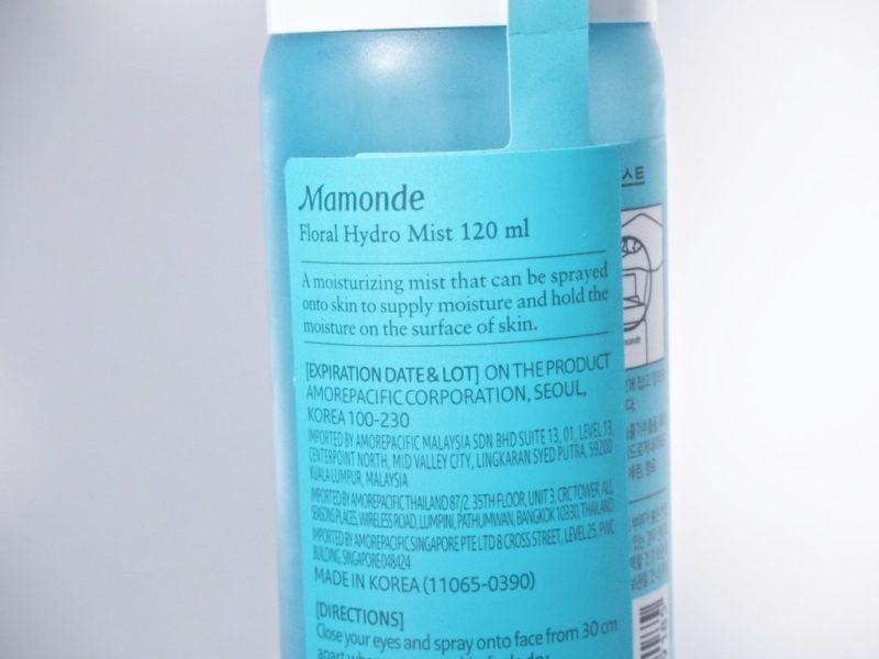 Mamonde Narcissus Floral Hydro Mist