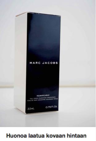 Marc Jacobs Meikkivoide Ostolakossa