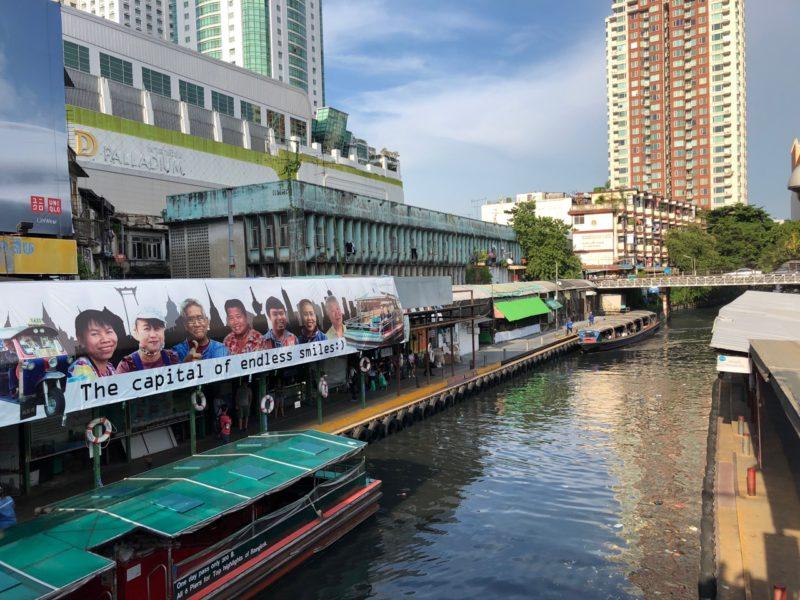 Ostolakossa Bangkok työ