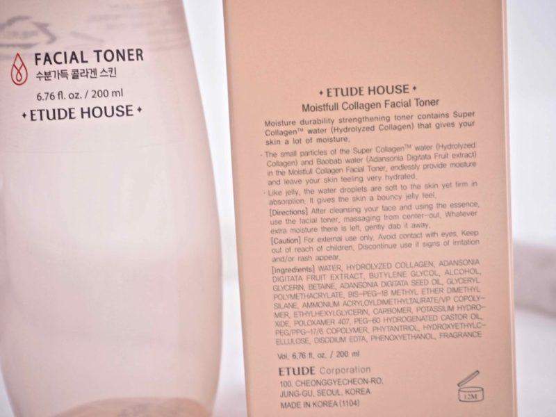 Ostolakossa Etude House Moistfull Collagen Facial Toner