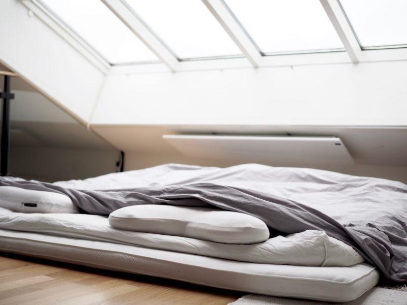 ostolakossa ilman sänkyä nukkuminen kokemuksia Virve Vee