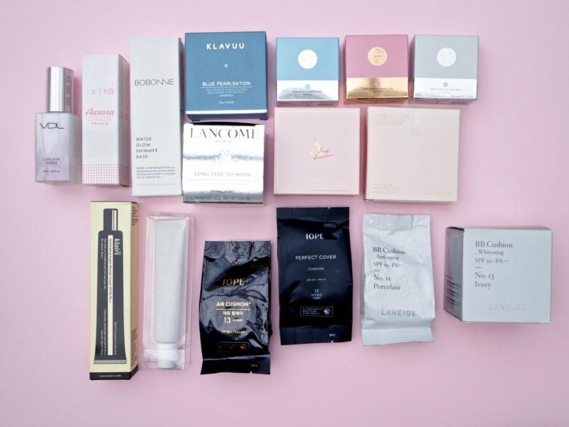 Ostolakossa kaikki meikit minimalismi