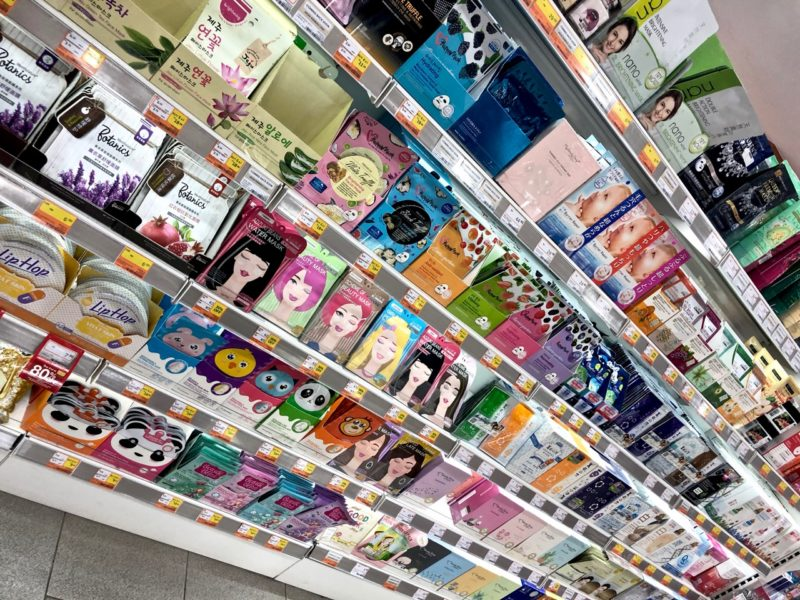 Ostolakossa Malesia kosmetiikka