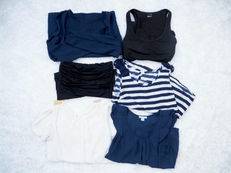 Ostolakossa minimalismi kaikki vaatteet