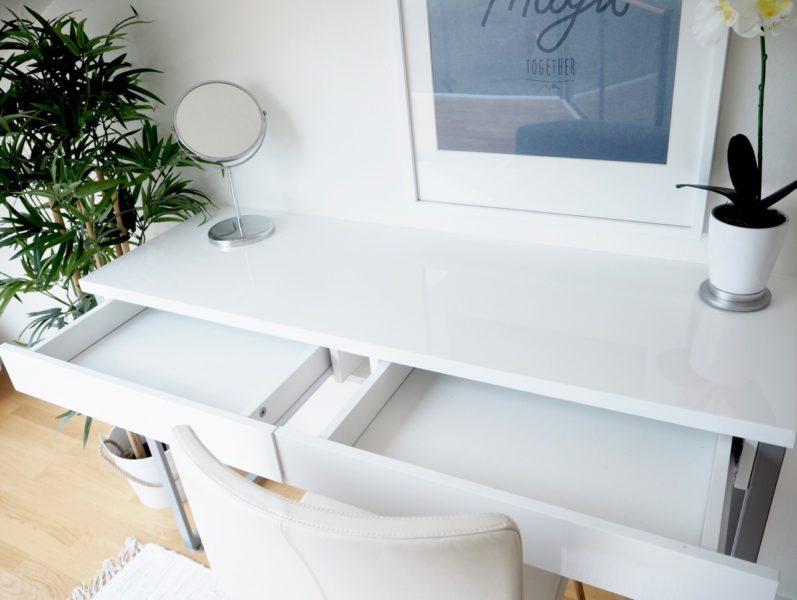 Ostolakossa minimalismi tavaroiden säilytys