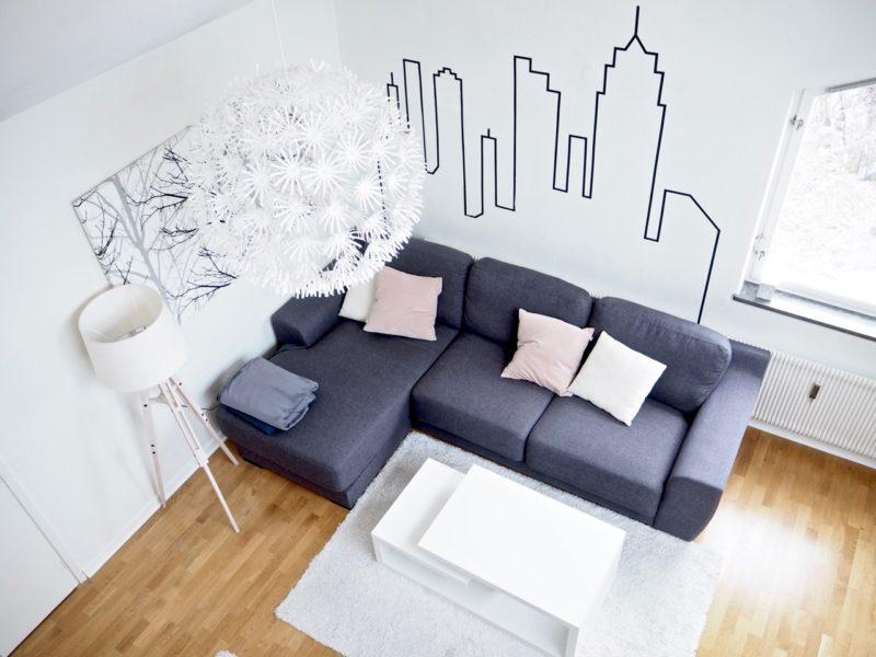 Ostolakossa minimalismi valkoinen väri