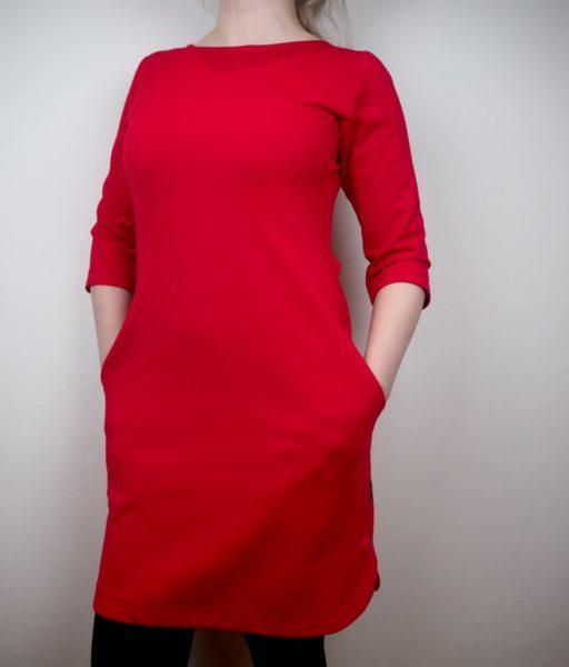 Ostolakossa musta mekko Telakka LEHTINEN