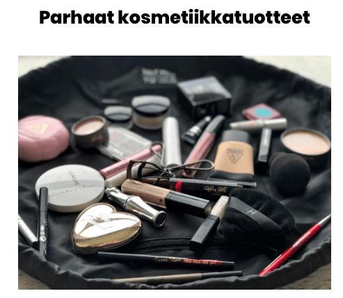 Parhaat kosmetiikkatuotteet