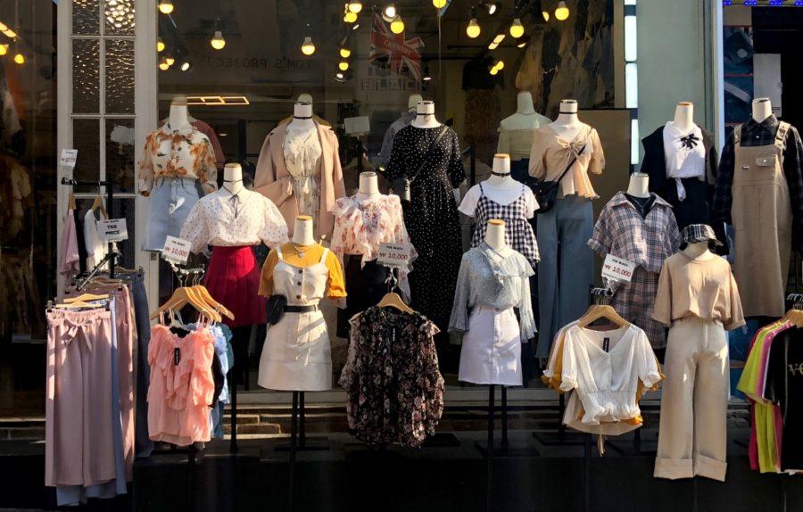 Ostolakossa Soul Etelä Korea vaatteet minimalismi -