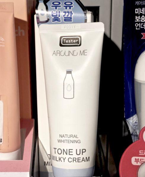 Ostolakossa Tone Up tuotteet