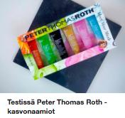Peter Thomas Roth Kasvonaamio Kokemuksia