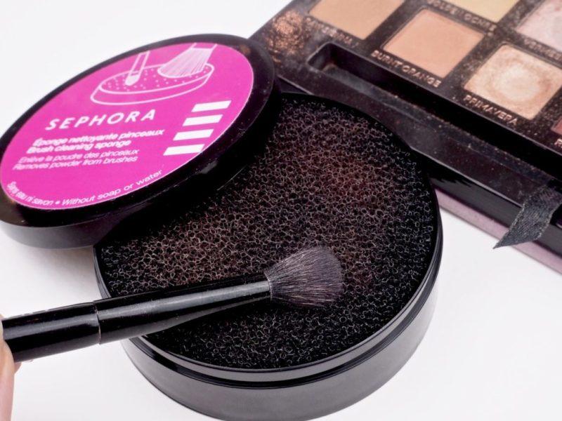 Sephora Blush Cleansing Sponge Ostolakossa Virve Vee puhdistussieni siveltimille
