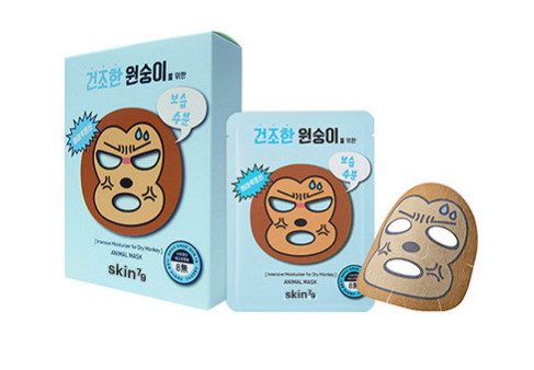 Skin79 Animal Mask, Dry Monkey