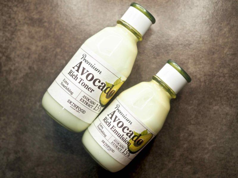 Skinfood Premium Avocado Rich Toner ja Premium Avocado Rich Emulsion