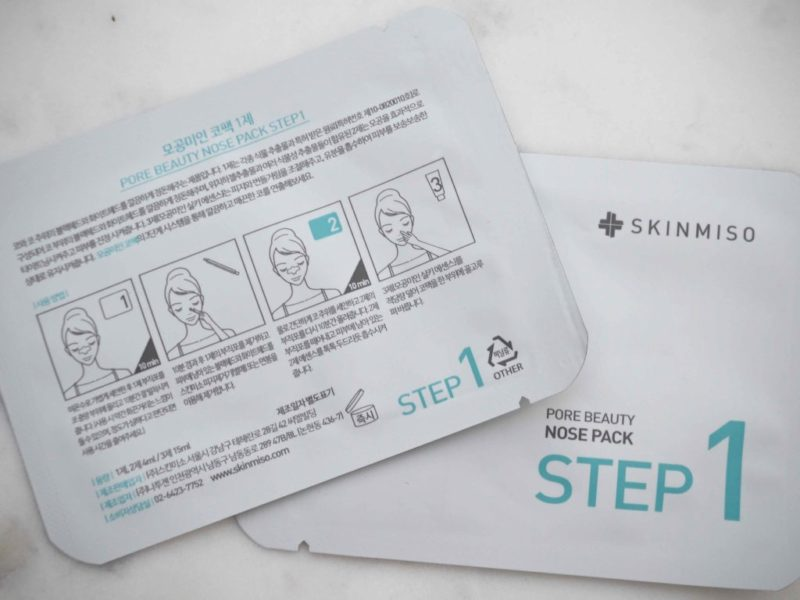 Skinmiso Pore Beauty Nose Pack