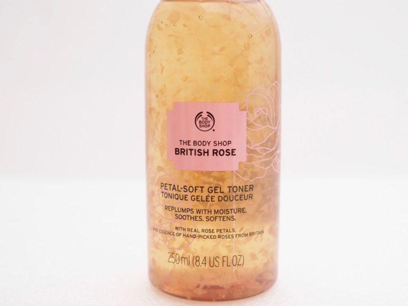 The Body Shop British Rose Petal-Soft Gel Toner Ostolakossa Virve Vee kokemuksia