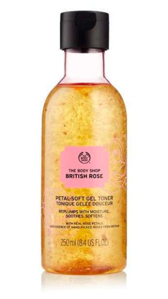 The Body Shop British Rose Petal-Soft Gel Toner
