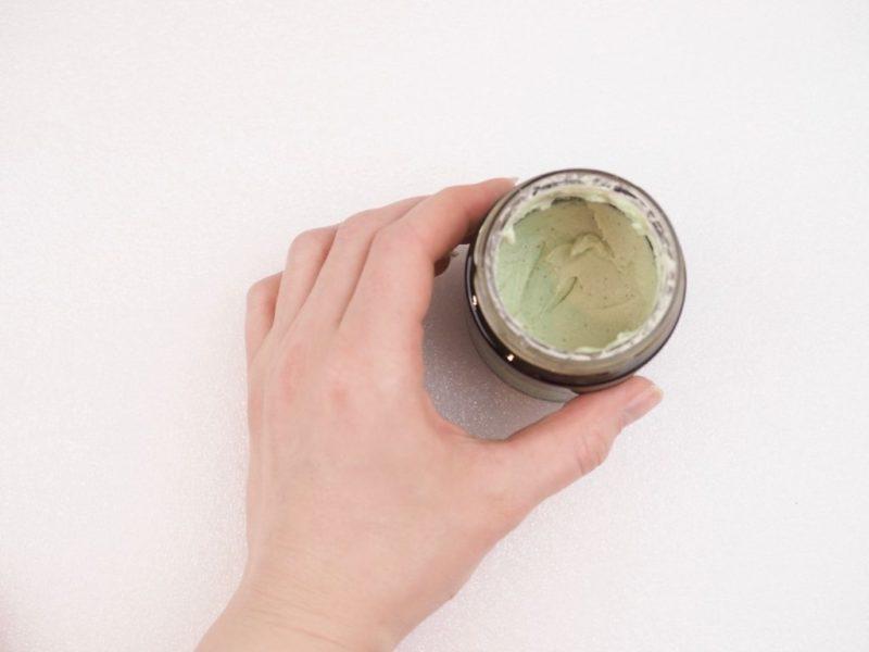 The Body Shop Japanese Matcha Tea Pollution Clearing Mask Ostolakossa Virve Vee kokemuksia