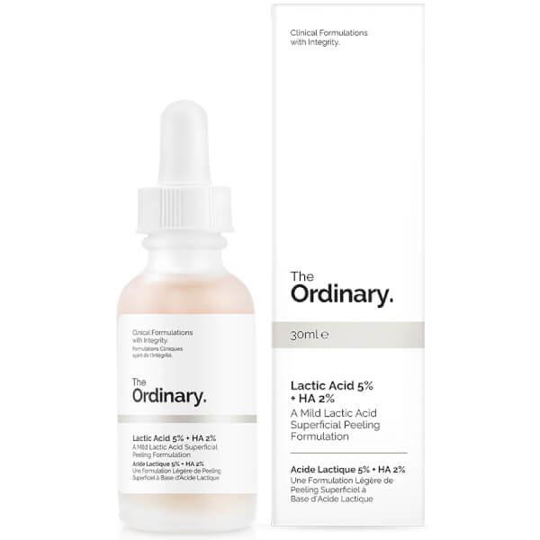 The ordinary lactic acid