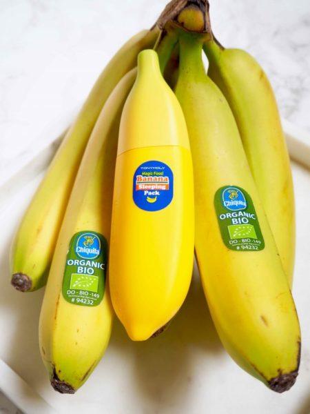 Tony Moly Banana Sleeping Pack