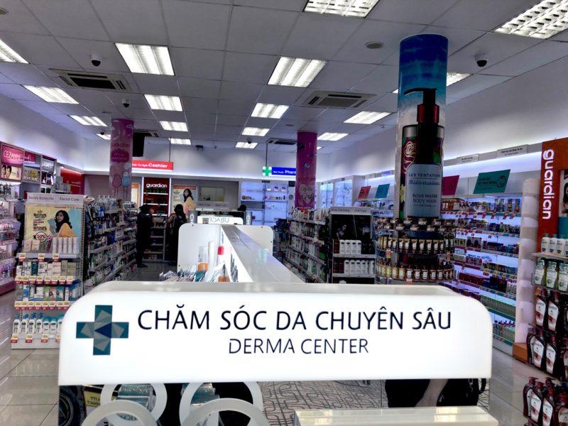 Vietnam Ho Cho Minh kosmetiikka Ostolakossa Virve Vee
